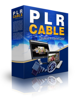 Product picture PLR Cable - World Wide Web TV Unleashed 3.0 w/MRR