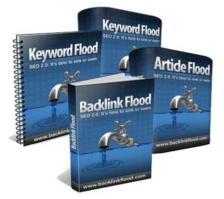 Product picture Backlink Flood - Tools With MRR